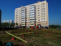 Альметьевск, улица Бигаш, дом 135. многоквартирный дом