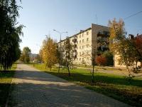 Almetyevsk, Ave Tukay, house 4. Apartment house