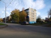 Almetyevsk, Ave Tukay, house 5. Apartment house