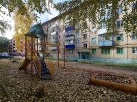 Almetyevsk, Ave Tukay, house 7. Apartment house
