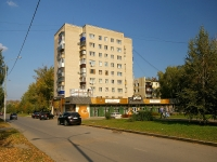 Almetyevsk, Ave Tukay, house 25. Apartment house