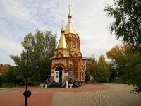 Альметьевск, улица Пушкина, дом 49. храм Рождества Христова