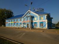 Альметьевск, улица Чехова, дом 2. жилой дом с магазином