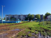 Альметьевск, улица Толстого, дом 4. многоквартирный дом