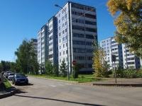 Альметьевск, улица Толстого, дом 6. многоквартирный дом