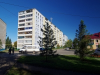 Альметьевск, улица Толстого, дом 8. многоквартирный дом