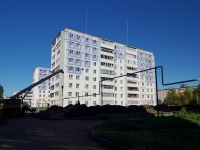 Almetyevsk, st Chernyshevsky, house 39. Apartment house