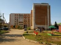 Альметьевск, улица Клары Цеткин, дом 18. многоквартирный дом