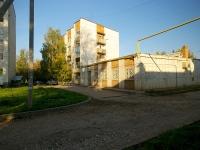 Альметьевск, улица Белоглазова, дом 43. жилой дом с магазином