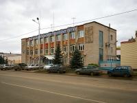 Альметьевск, улица Ризы Фахретдина, дом 4. офисное здание Альметьевские тепловые сети