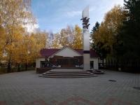 Альметьевск, улица Ризы Фахретдина. мемориальный комплекс Погибшим воинам
