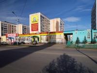 Альметьевск, улица Герцена, дом 80Б. многоквартирный дом
