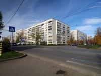 Альметьевск, улица Герцена, дом 90. многоквартирный дом