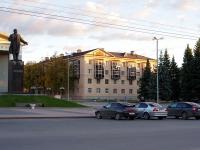 Almetyevsk, st Gagarin, house 3. Apartment house