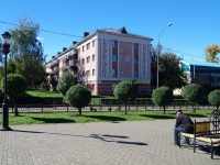 Almetyevsk, st Gagarin, house 15. Apartment house