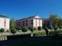 Almetyevsk, st Gagarin, house 16. Apartment house