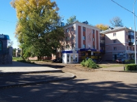 Almetyevsk, st Gagarin, house 21. Apartment house
