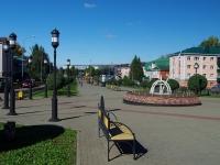 Альметьевск, улица Гагарина. вид на улицу