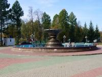 Альметьевск, улица Джалиля. фонтан В парке