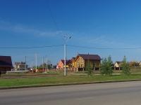 Альметьевск, улица Акзама Валиханова, дом 1. индивидуальный дом