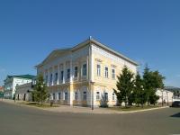 Елабуга, улица Большая Покровская, дом 9А. памятник архитектуры Дом купца Стахеева