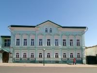 Елабуга, улица Большая Покровская, дом 9. памятник архитектуры Дом купца Чернова