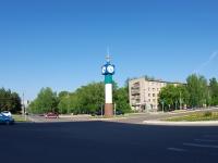 Елабуга, улица Молодёжная. малая архитектурная форма Часы