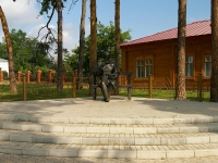 Елабуга, памятник В.М. БехтеревуНефтяников проспект, памятник В.М. Бехтереву