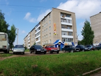 Елабуга, улица Пролетарская, дом 12. многоквартирный дом