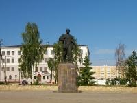 Елабуга, площадь Ленина. памятник В.И. Ленину