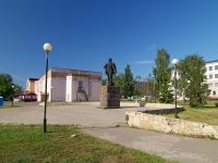 Elabuga, monument В.И. ЛенинуLenin square, monument В.И. Ленину