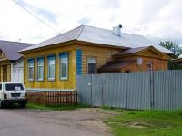 Elabuga, Toyminsky aley, house 3. Private house