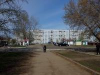 Нижнекамск, улица Бызова, дом 1. многоквартирный дом