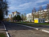 Нижнекамск, улица Бызова, дом 11. многоквартирный дом