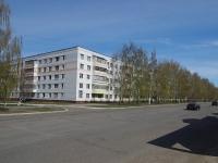 Нижнекамск, улица Бызова, дом 5. многоквартирный дом