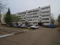 Нижнекамск, улица Бызова, дом 7Б. многоквартирный дом