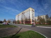 Нижнекамск, улица Кайманова, дом 2. многоквартирный дом