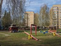 Нижнекамск, улица Лесная, дом 45. многоквартирный дом