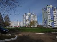 Нижнекамск, улица Лесная, дом 25. многоквартирный дом