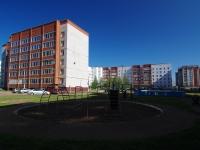 Нижнекамск, Химиков проспект, дом 1Б. многоквартирный дом