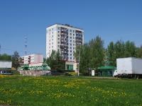 Нижнекамск, улица Гагарина, дом 1. многоквартирный дом