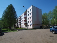 Нижнекамск, улица Гагарина, дом 1Б. многоквартирный дом