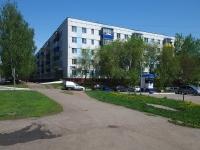 Нижнекамск, улица Гагарина, дом 2. многоквартирный дом