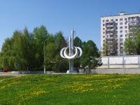 Нижнекамск, улица Гагарина. малая архитектурная форма