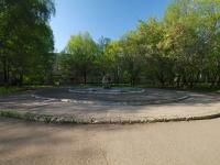 Нижнекамск, улица Спортивная. памятный знак Место установления памятника ликвидаторам радиационных катастроф