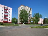 Нижнекамск, улица 50 лет Октября, дом 8. многоквартирный дом
