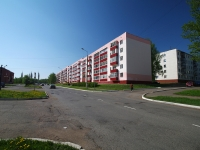 Нижнекамск, улица 50 лет Октября, дом 12. многоквартирный дом