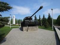 Нижнекамск, площадь Лемаева. памятник Танк ИС-2