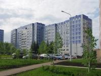 Нижнекамск, улица Баки Урманче, дом 11. многоквартирный дом