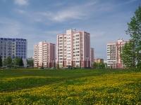 Нижнекамск, улица Баки Урманче, дом 21. многоквартирный дом